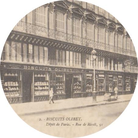 biscuiterie olibet dépôt de Paris