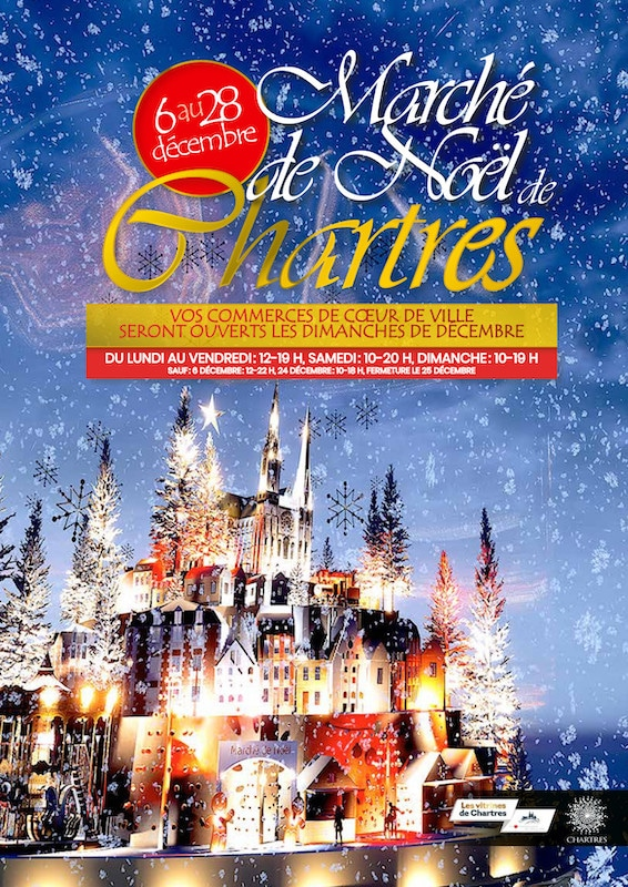 marché de noël de Chartres 2019