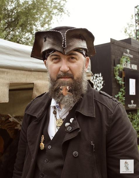 bijou de barbe de Ric Wooden