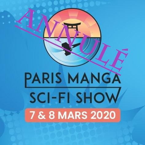 paris manga & sci-fi show annulé