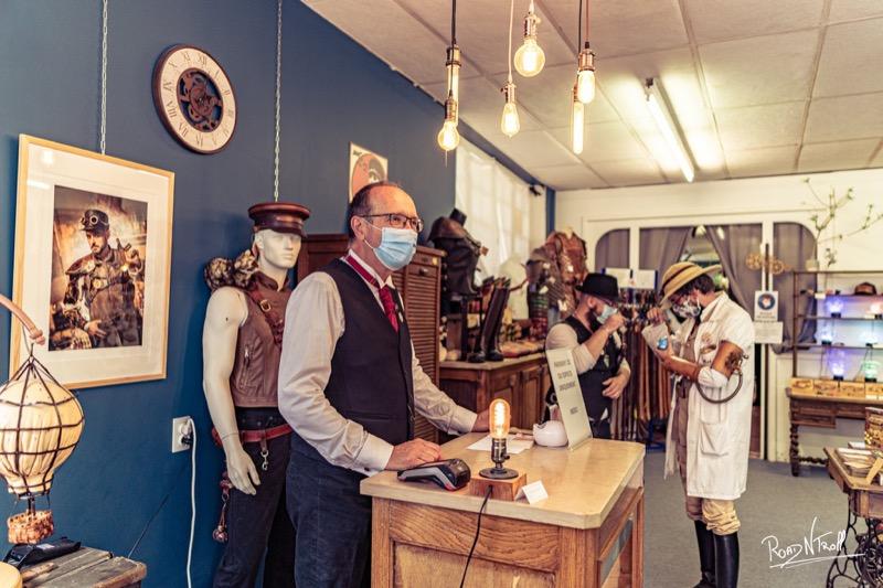 Steam week-end en Normandie - la Manufacture de Lady S. bijoux Steampunk