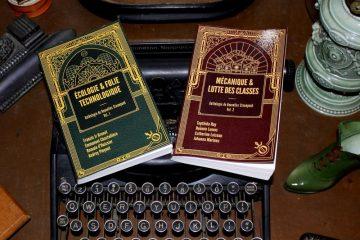 anthologie de nouvelles Steampunk éditions Oneiroi collection vapeur et mécanique