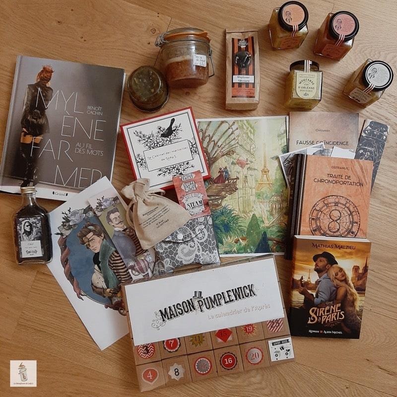 mes cadeaux de noel - la Manufacture de Lady S. bijoux Steampunk