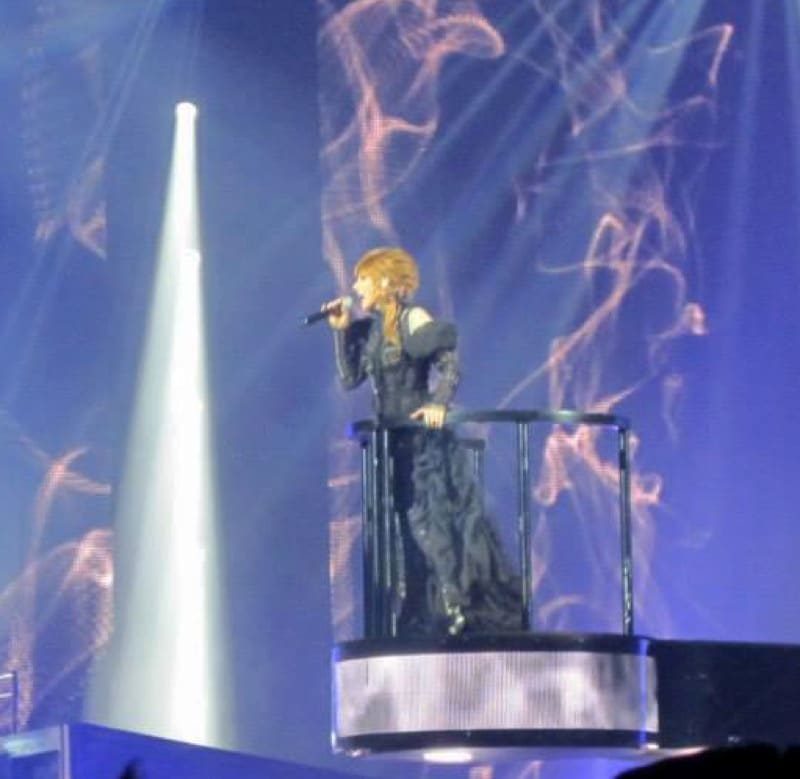 Mylène Farmer mes photos du concert Timeless 2013