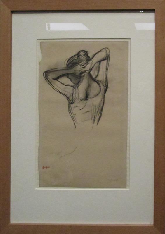 danseuse à mi corps - Degas à l'Opéra