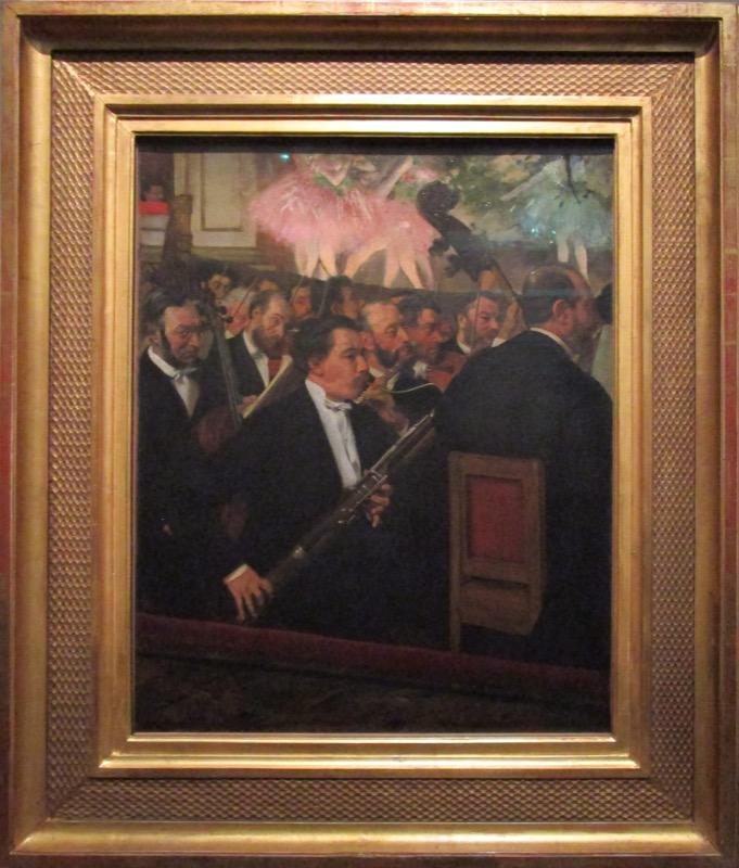 l'orchestre de l'opéra - Degas à l'Opéra