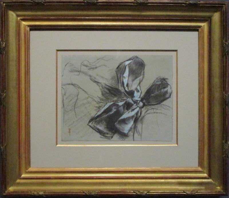Etude d'un noeud de ruban - Degas à l'Opéra