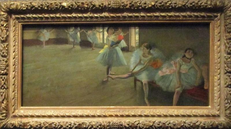 la leçon de danse - Degas à l'Opéra