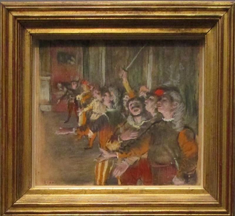 choristes - Degas à l'Opéra
