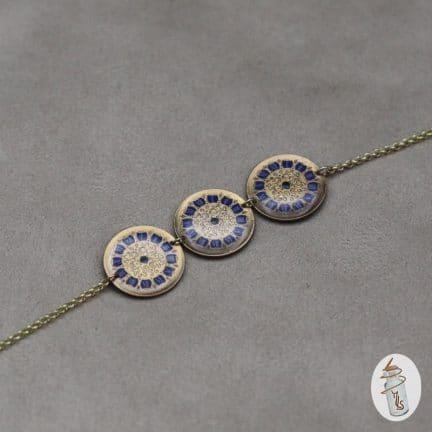 Bracelet 3 cadrans Steampunk la Manufacture de Lady S. bijoux Steampunk