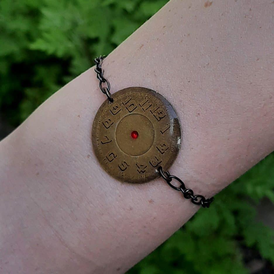 Bracelet Steampunk Cadran