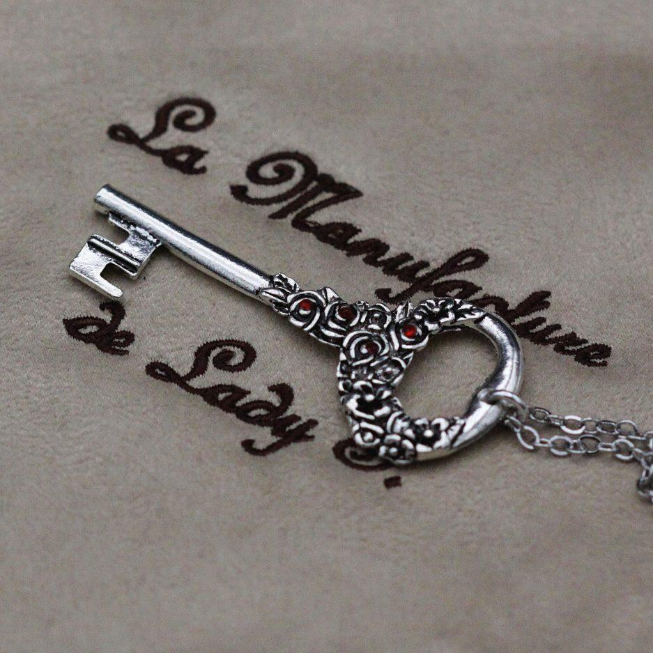 pendentif steampunk clé