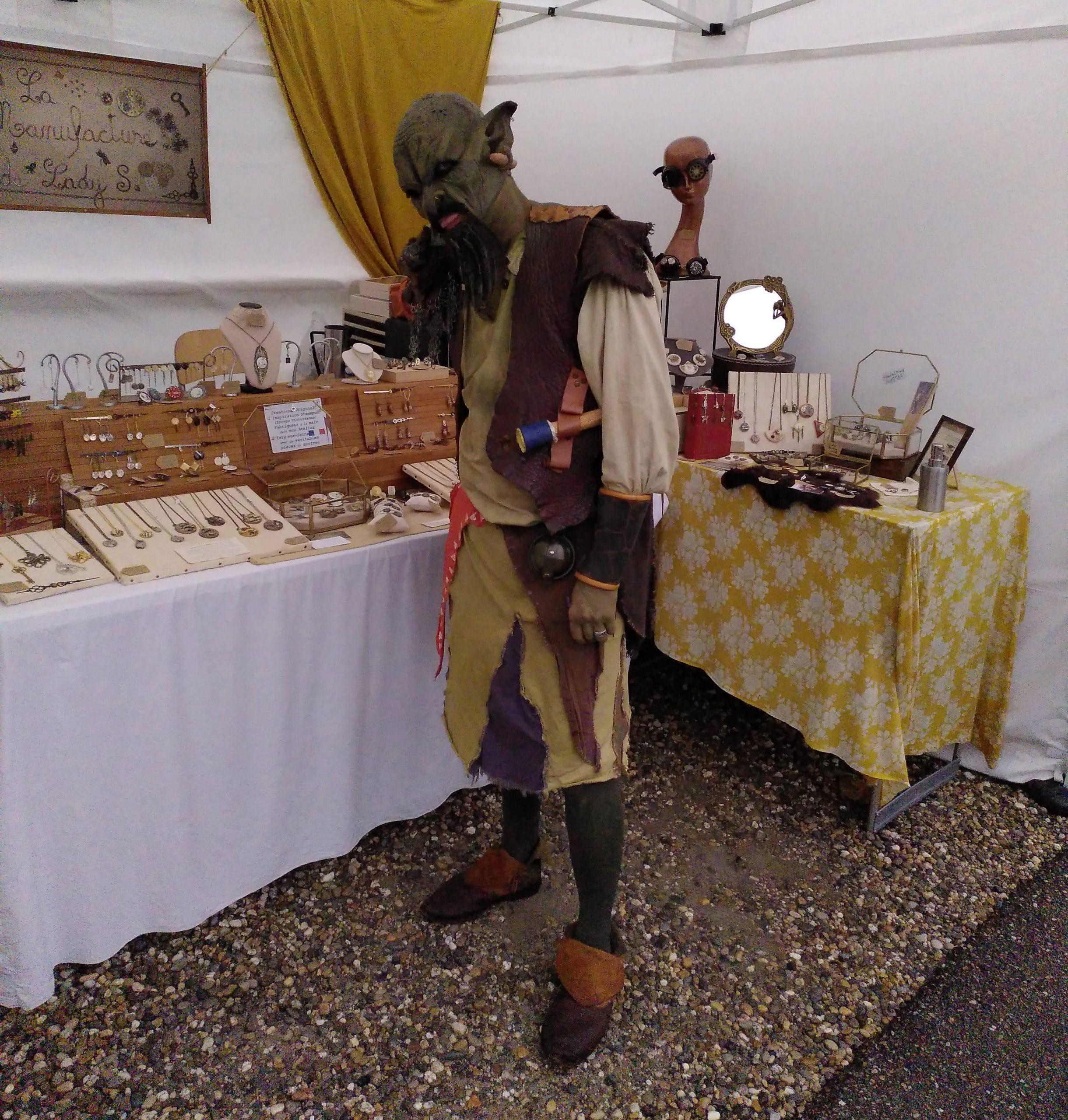 Reportage photos la Manufacture de Lady S. de retour d'Yggdrasil Summer Market